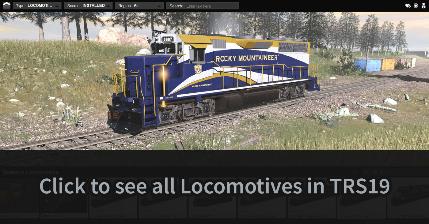 Trainz Railroad Simulator 2019 - TRS19